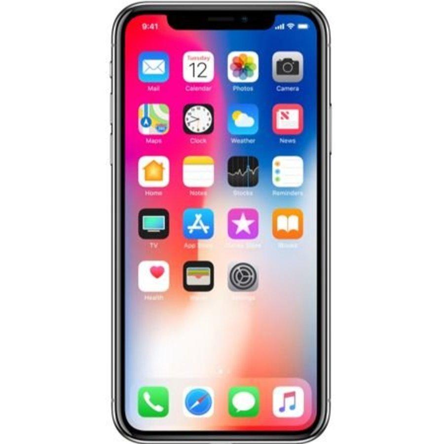 Apple iPhone X 256GB Silver (256GB Silver)-1