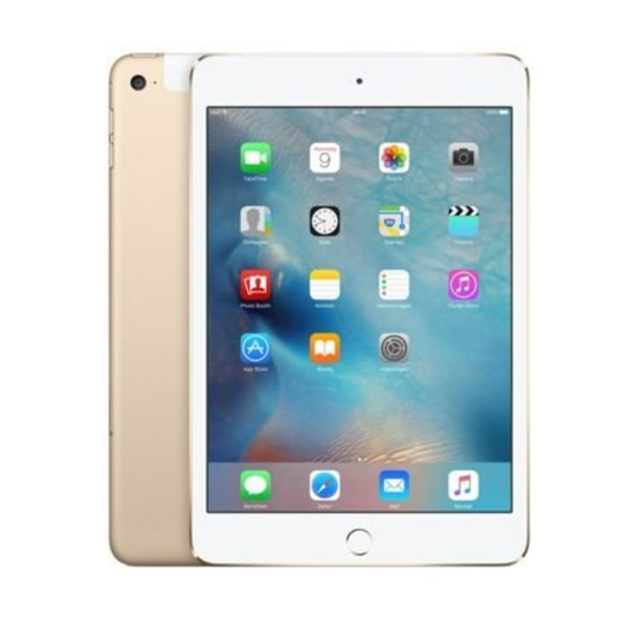 Apple iPad mini 4 WiFi 128GB Gold (128GB Gold)-1