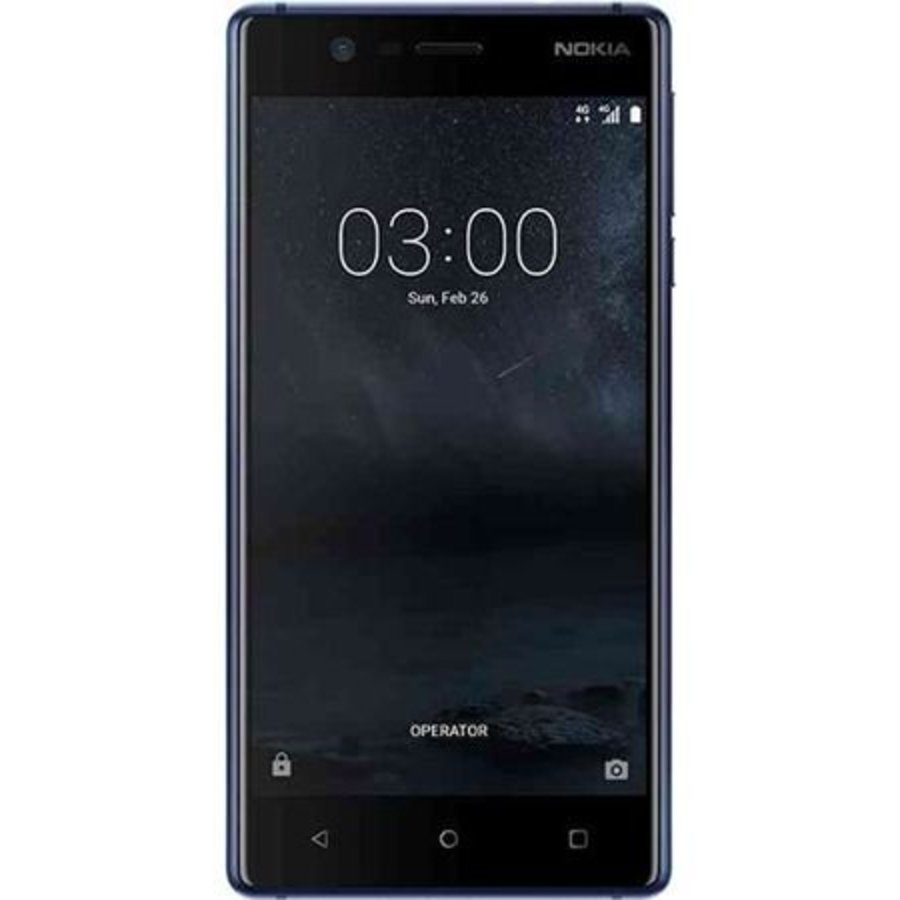 Nokia 3 Dual Sim Tempered Blue (Tempered Blue)-1