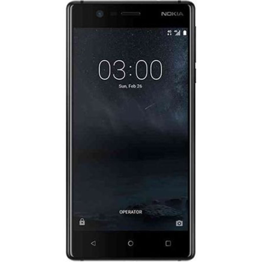 Nokia 3 Dual Sim Black (Black)-1
