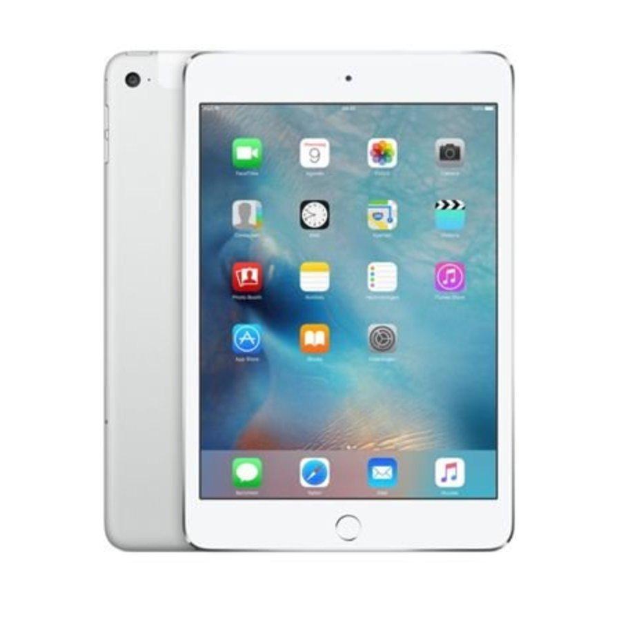Apple iPad mini 4 WiFi 128GB Silver (128GB Silver)-1