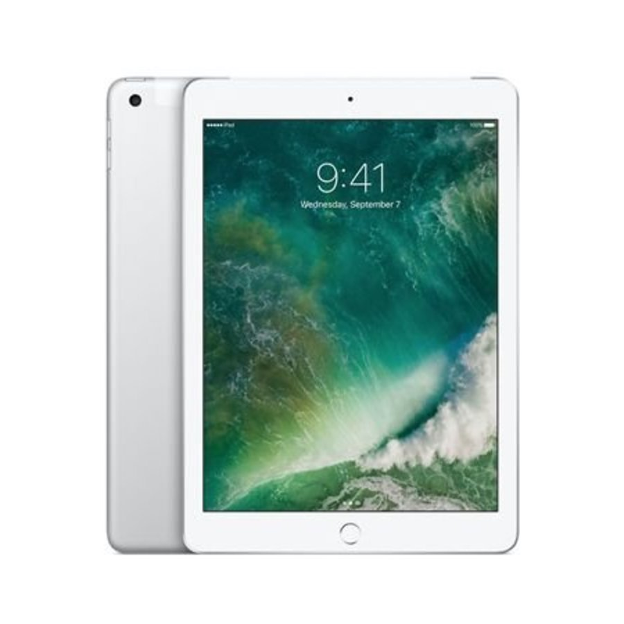 Apple iPad 9.7 2018 WiFi + 4G 128GB Silver (128GB Silver)-1