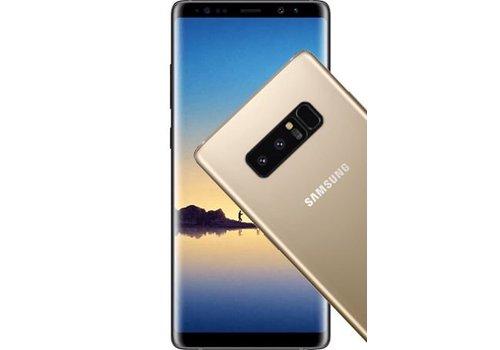 Samsung Galaxy Note8 Dual Sim N950FD Maple Gold