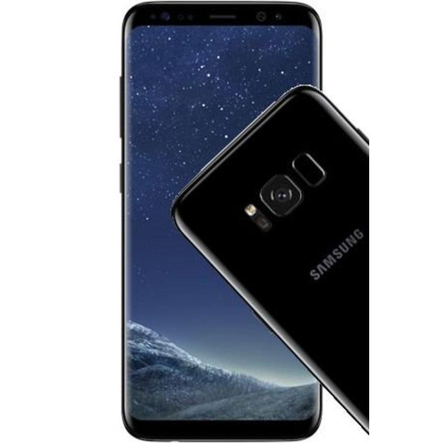 Samsung Galaxy S8 Duos G950FD 64GB Import Midnight Black (64GB Midnight Black)-1