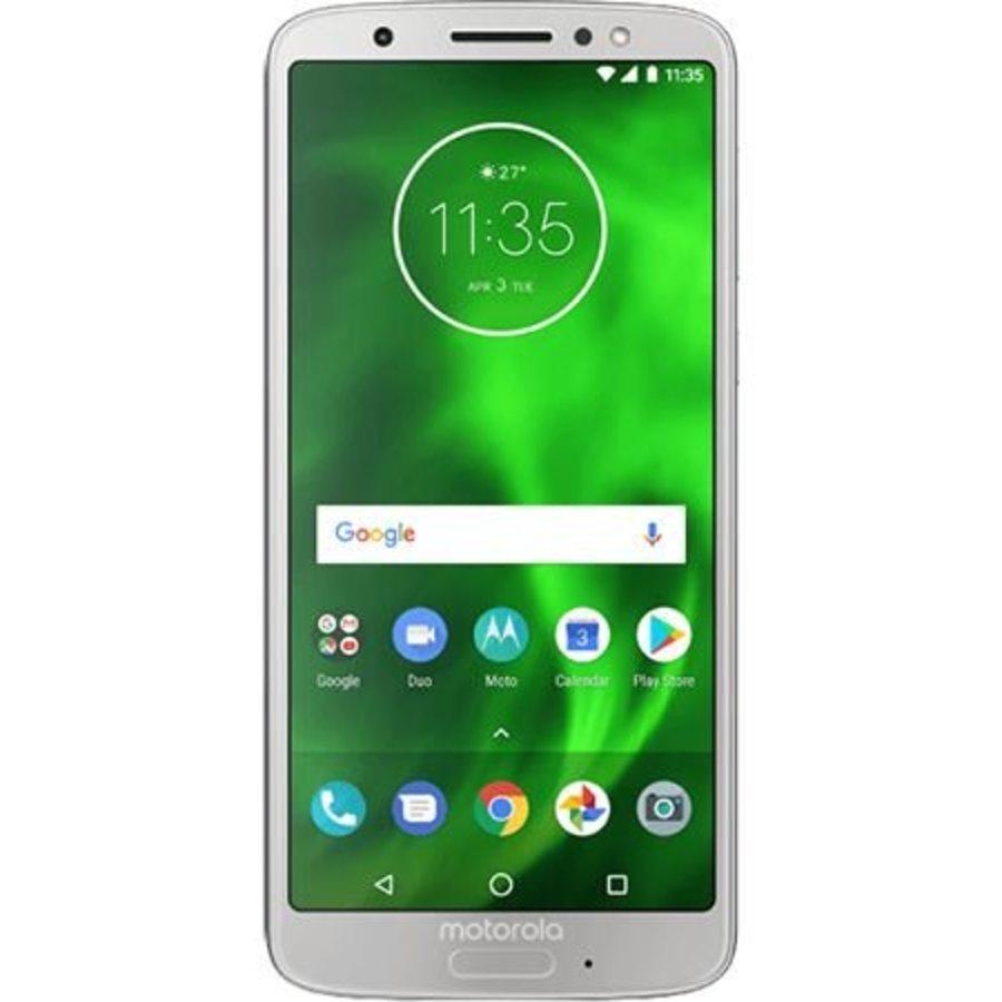 Motorola Moto G6 Dual Sim Silver (Silver)-1