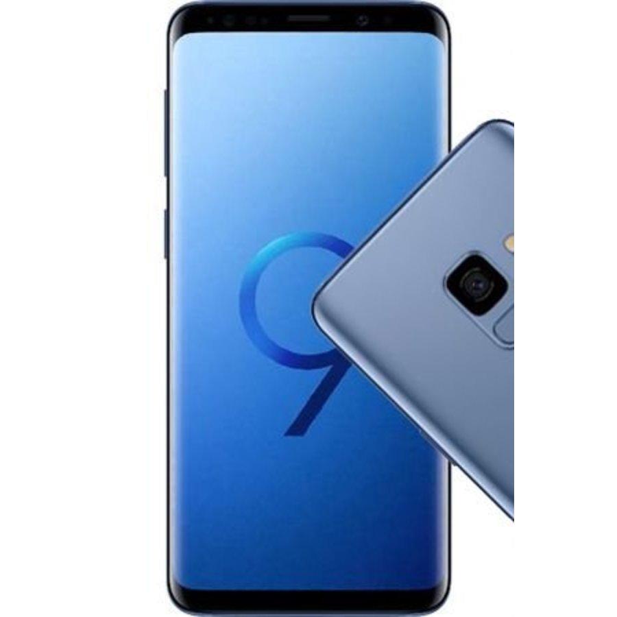 Samsung Galaxy S9 Dual Sim G960F Coral Blue (64GB Coral Blue)-1