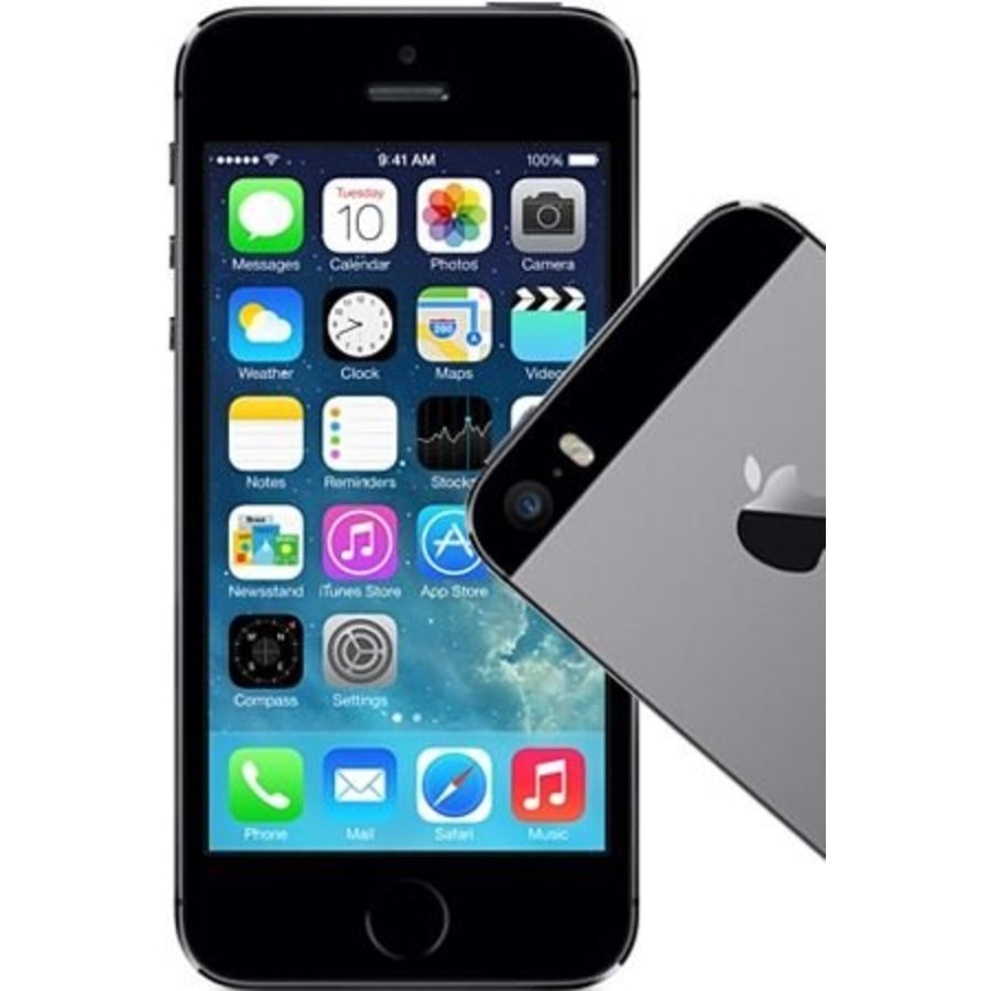 Apple iPhone 5s 16GB Space Grey (16GB Space Grey)-1