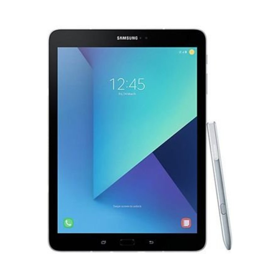 Samsung Galaxy Tab S3 9.7 WiFi + 4G T825N Silver (Silver)-1