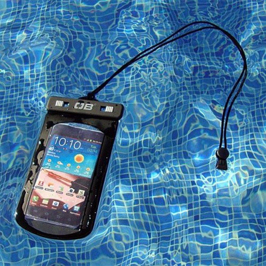 Overboard waterdichte hoes grote smartphones - Zwart-2