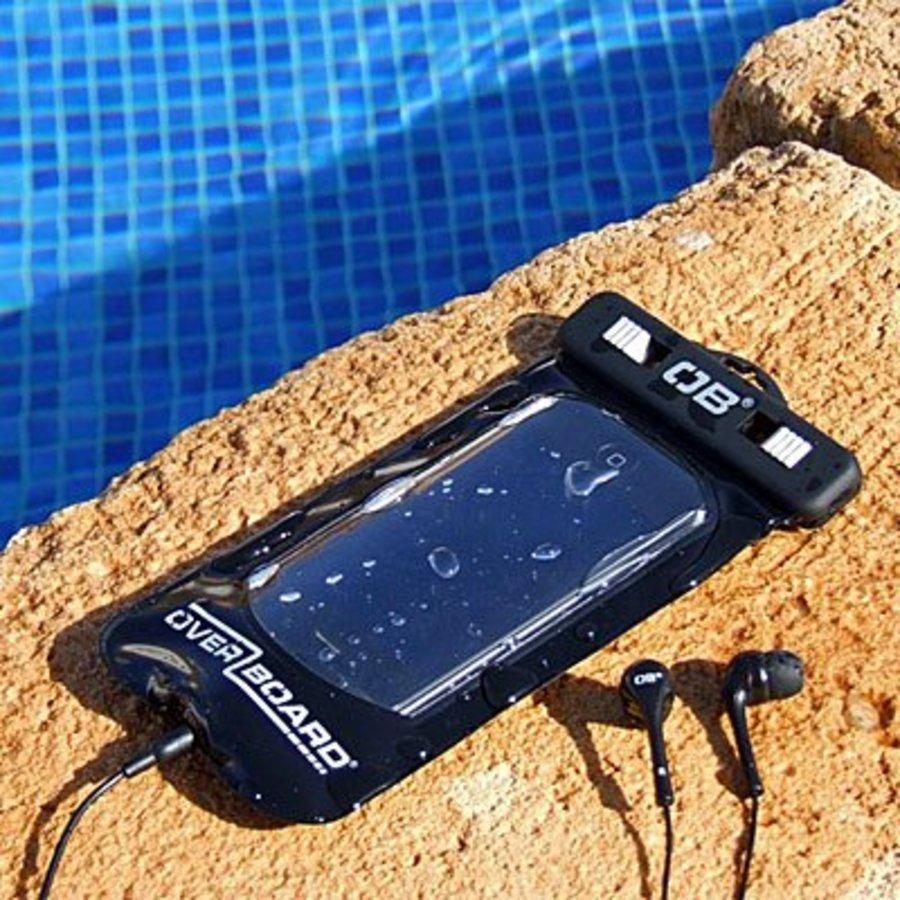 Water- en stofdichte smartphonehoes Overboard - Zwart-2