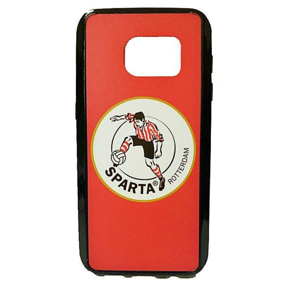 Sparta Rotterdam hardcover Samsung Galaxy S7 - rood-wit-3