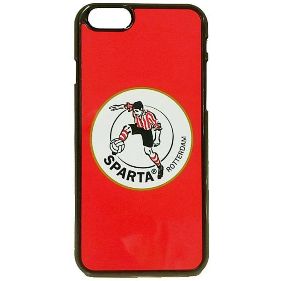 Sparta Rotterdam hardcover iPhone 7/8  - wit-4