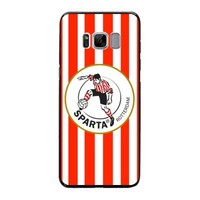 thumb-Sparta Rotterdam hardcover Samsung Galaxy S8 - rood-wit-2