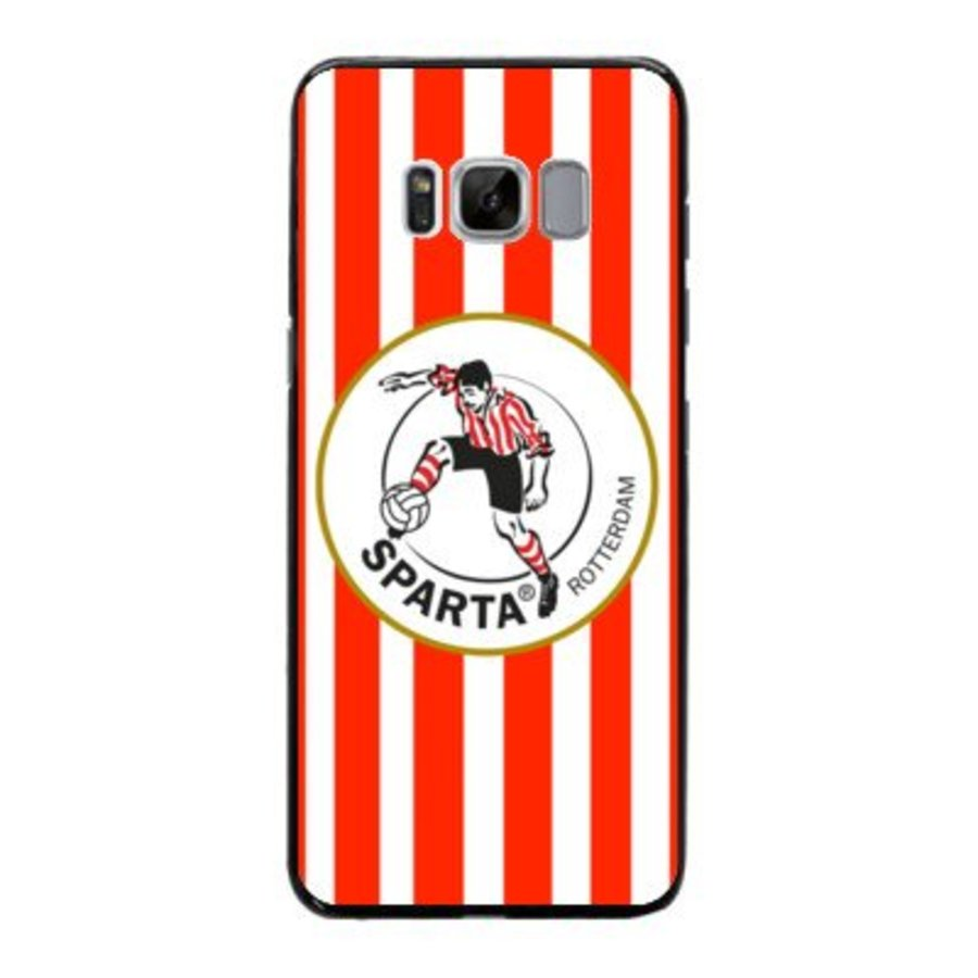 Sparta Rotterdam hardcover Samsung Galaxy S8 - rood-wit-2