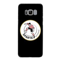 thumb-Sparta Rotterdam hardcover Samsung Galaxy S8 - rood-wit-1