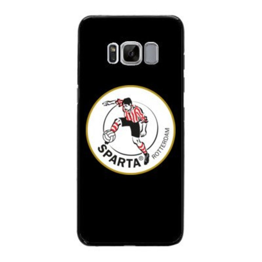 Sparta Rotterdam hardcover Samsung Galaxy S8 - rood-wit-1