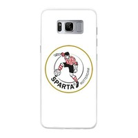 thumb-Sparta Rotterdam hardcover Samsung Galaxy S8 - rood-wit-3