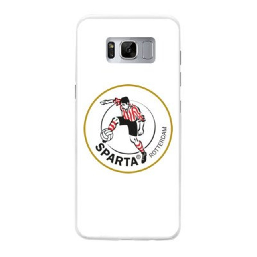 Sparta Rotterdam hardcover Samsung Galaxy S8 - rood-wit-3