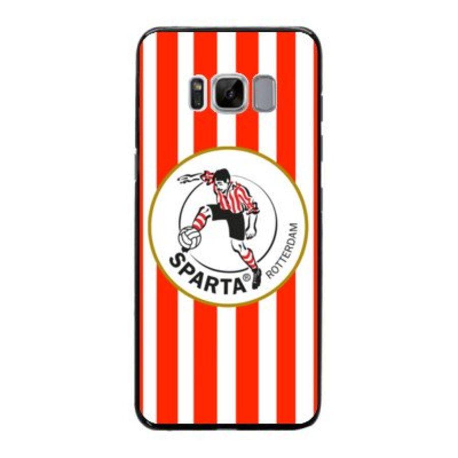Sparta Rotterdam hardcover Samsung Galaxy S8 Plus- rood-wit-2