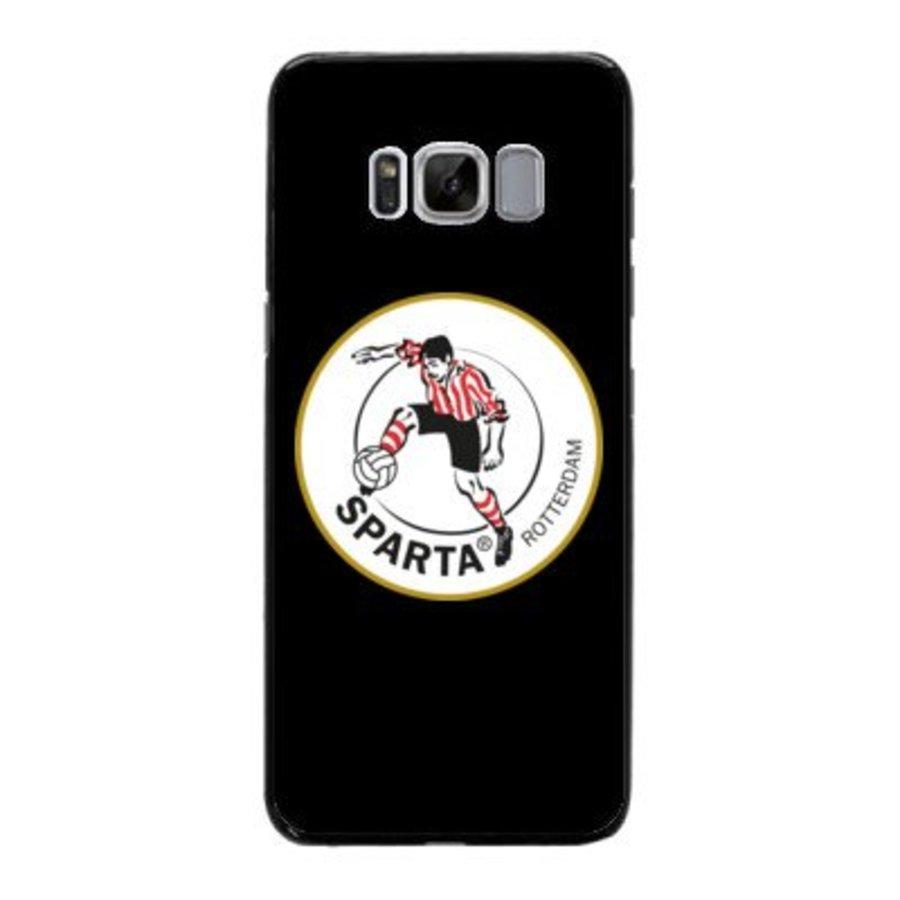 Sparta Rotterdam hardcover Samsung Galaxy S8 Plus- rood-wit-1