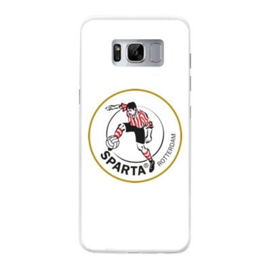 Sparta Rotterdam hardcover Samsung Galaxy S8 Plus- rood-wit-3