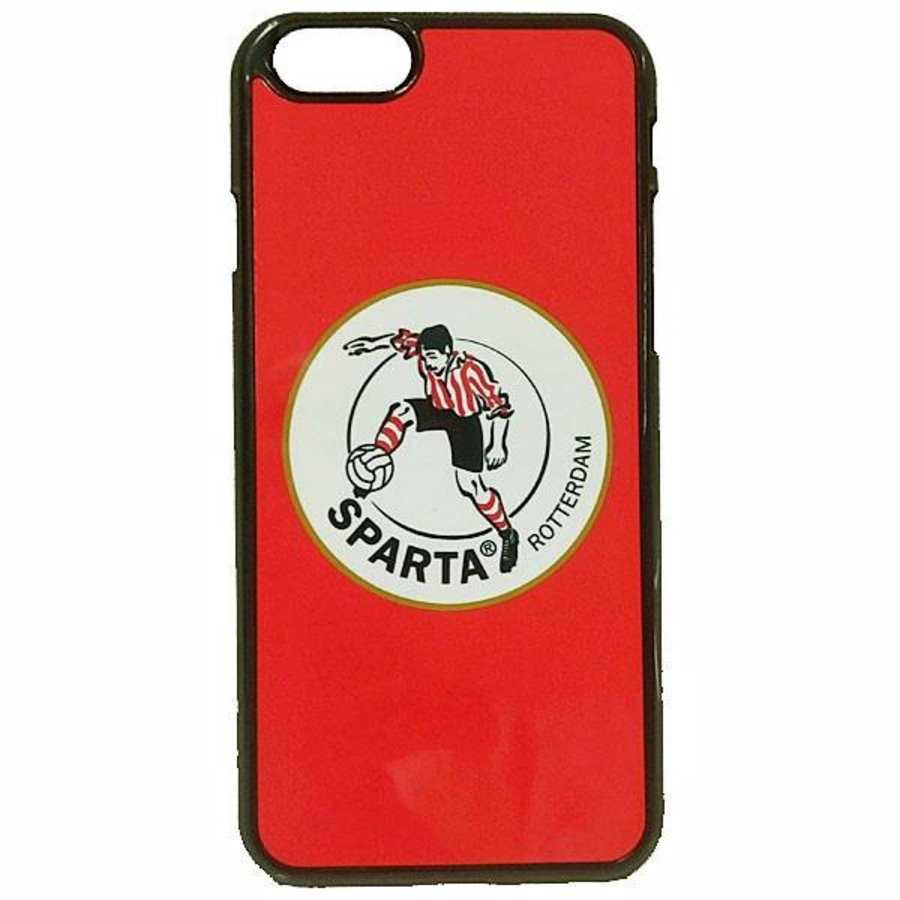 Sparta Rotterdam hardcover iPhone SE / 5(S)  - rood-2