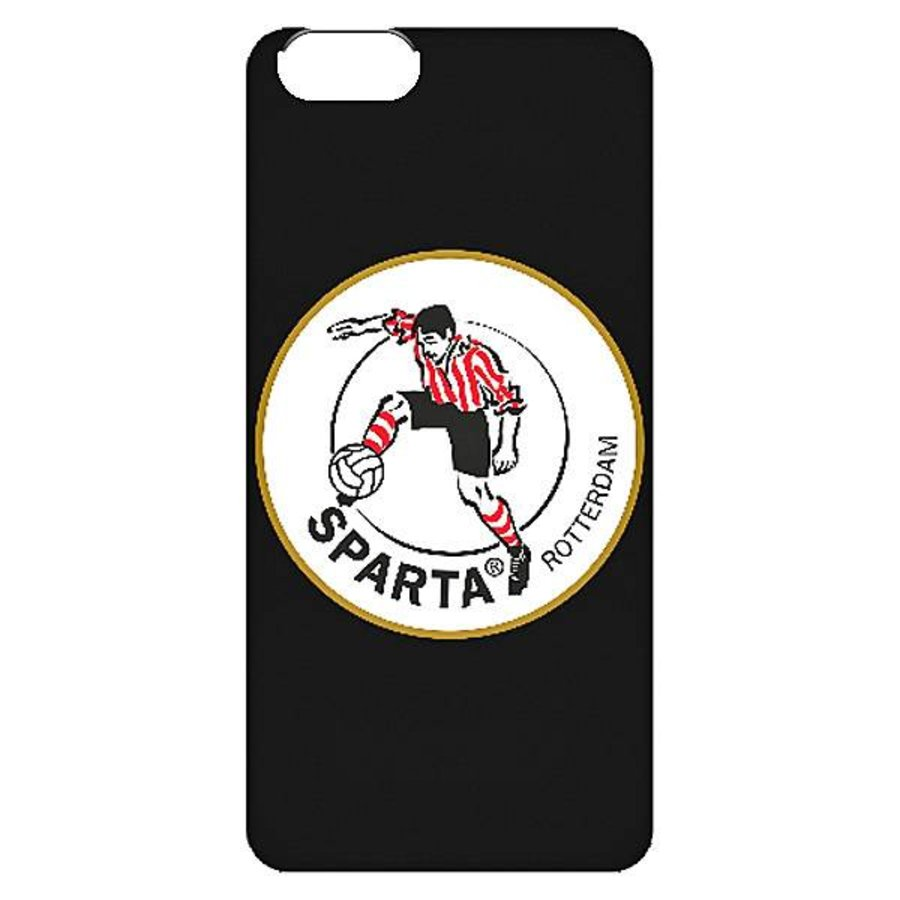 Sparta Rotterdam hardcover iPhone SE / 5(S)  - rood-1