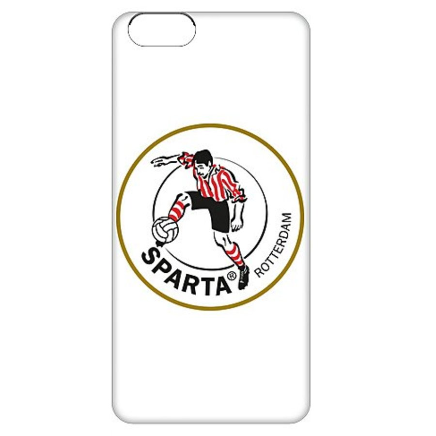 Sparta Rotterdam hardcover iPhone SE / 5(S)  - rood-3