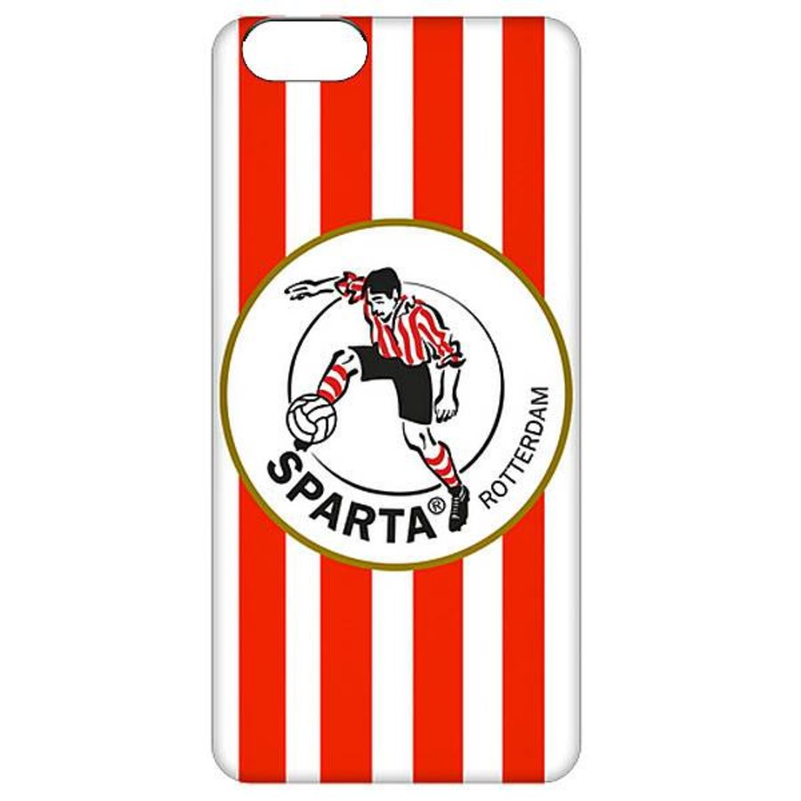 Sparta Rotterdam hardcover iPhone SE / 5(S)  - rood-4