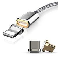 thumb-Movizy 2.4 A magnetische laad- en datakabel 3 meter 3-in-1-1