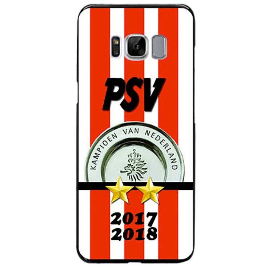 PSV Kampioen hardcover Samsung Galaxy S8 - zwart-1