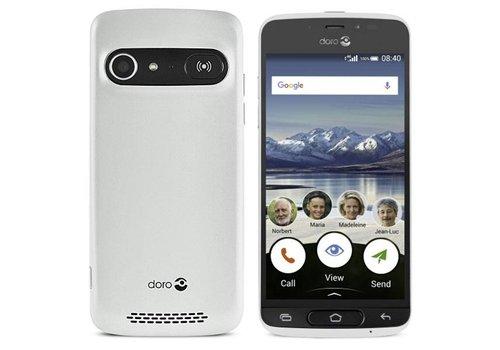 Doro 8040 White + Cradle