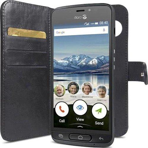 Doro Wallet Case 8040 - Black