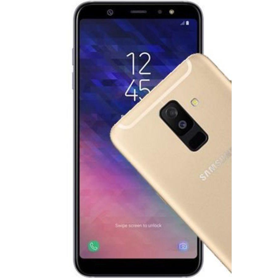 Samsung Galaxy A6+ 2018 Dual Sim A605FD Gold (Gold)-1