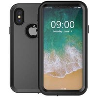 thumb-Just in Case Apple iPhone X Waterproof Case (Black)-1