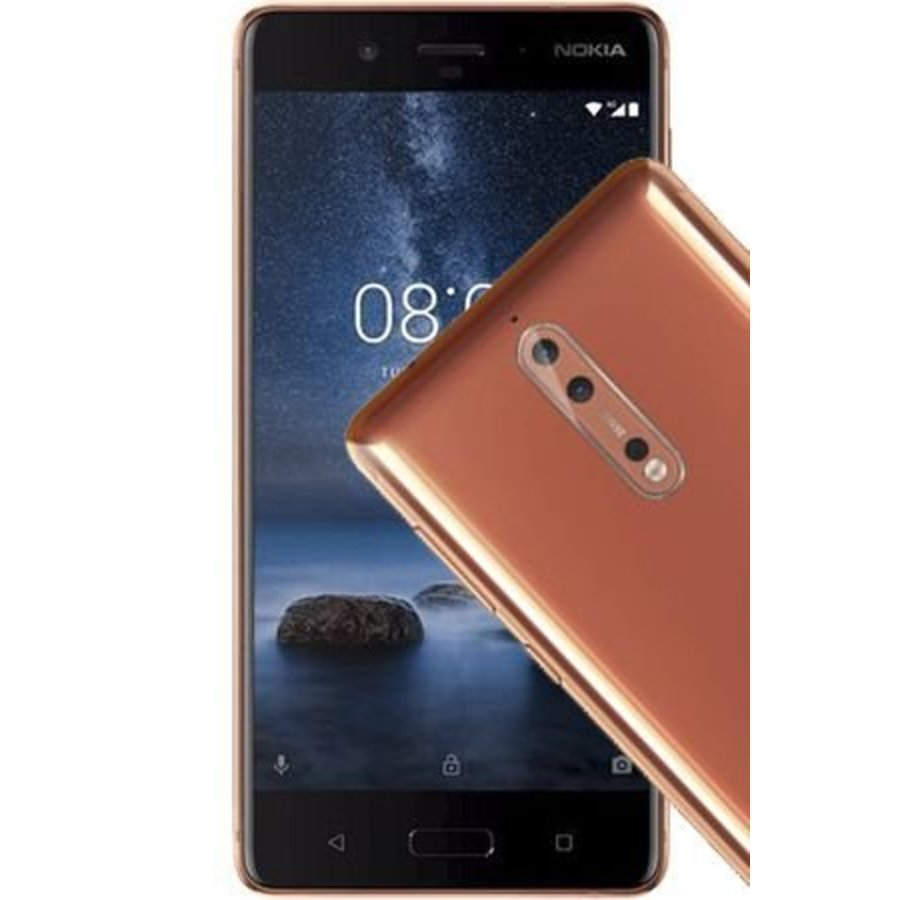 Nokia 8 Dual Sim Copper (Copper)-1
