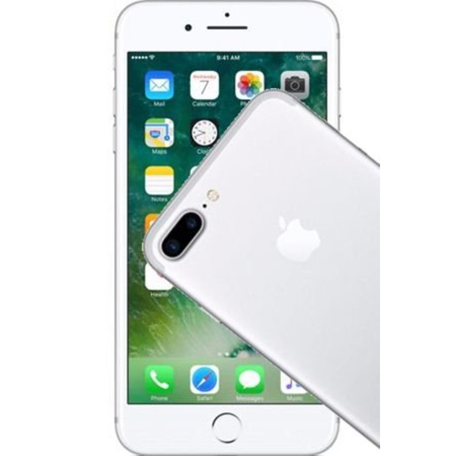 Apple iPhone 7 Plus 256GB Silver (256GB Silver)-1