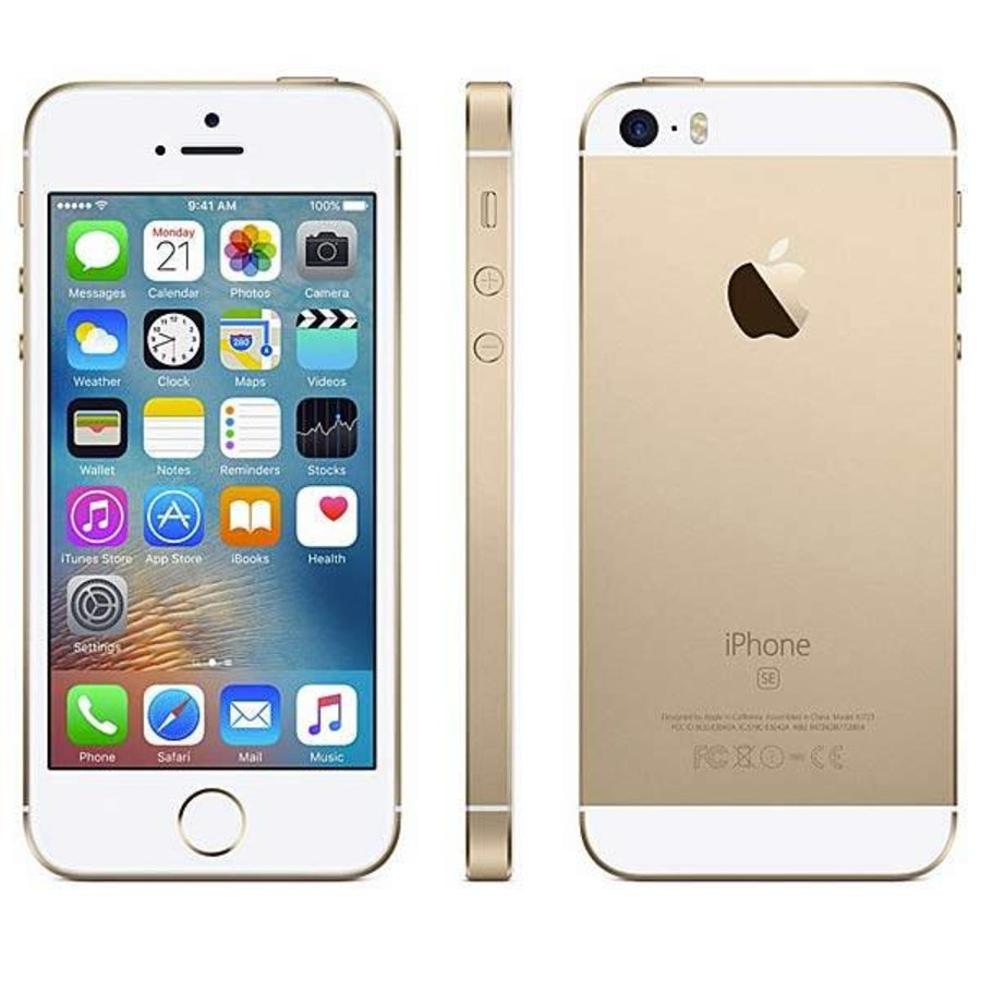 Refurbished iPhone SE - 64GB - Gold-1