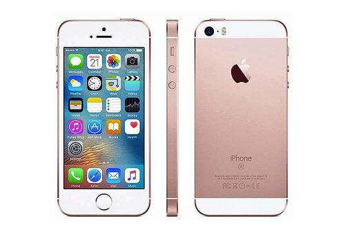 Refurbished iPhone SE - 32GB - Rosegold