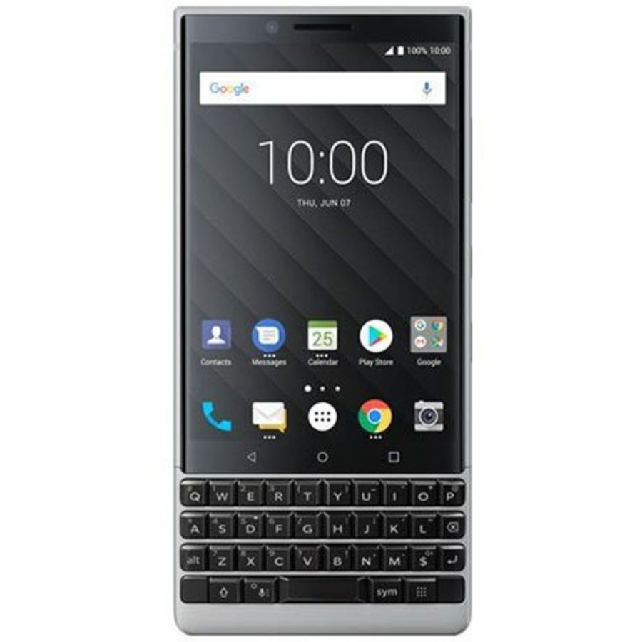 BlackBerry KEY2 Silver (Silver)-1