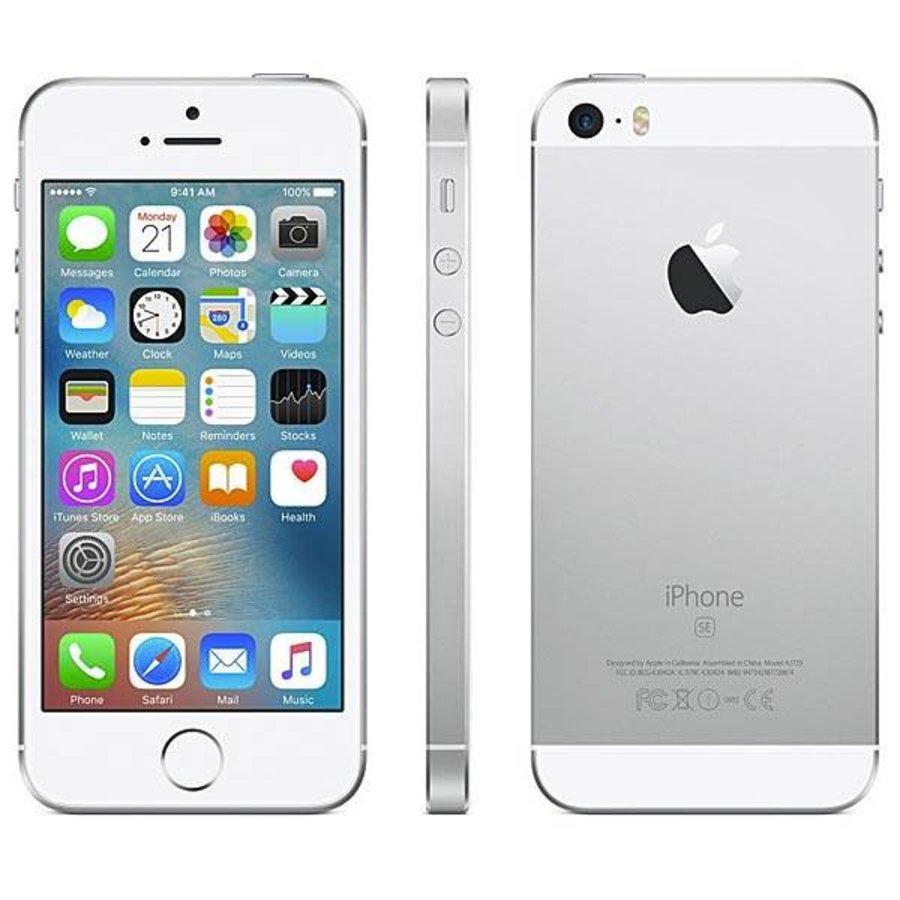 Refurbished iPhone SE - 64GB - Silver-1