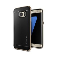 thumb-Spigen Neo Hybrid for Galaxy S7 Edge champagne gold-1