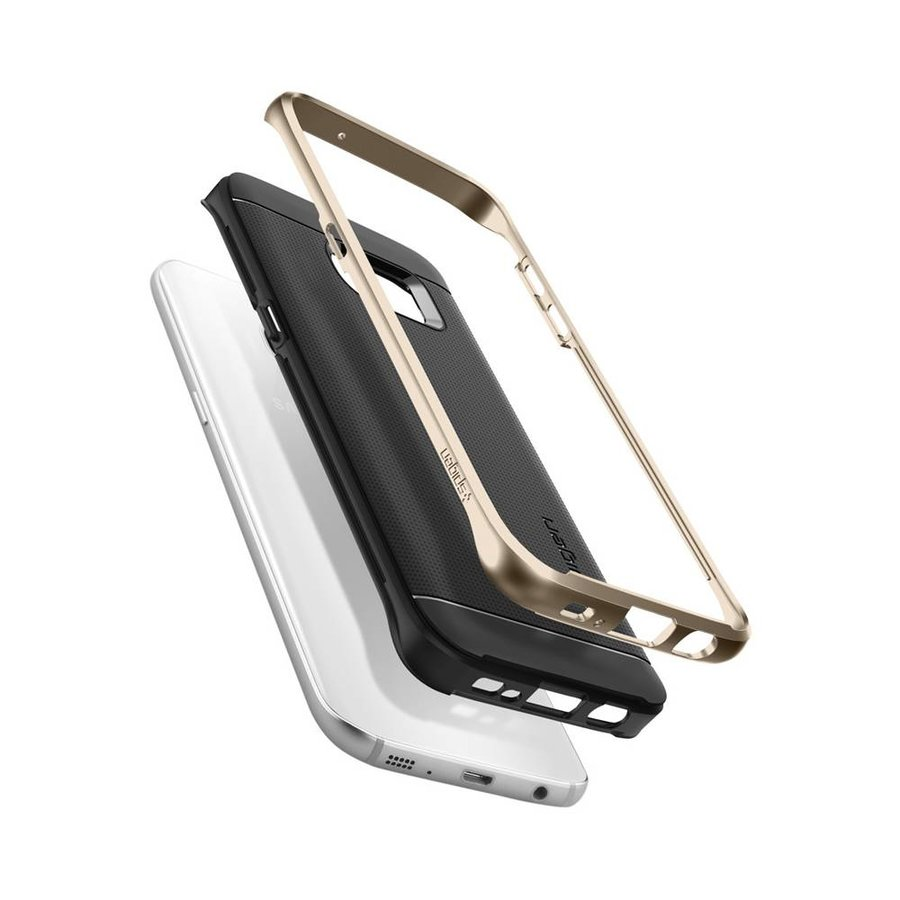 Spigen Neo Hybrid for Galaxy S7 Edge champagne gold-4