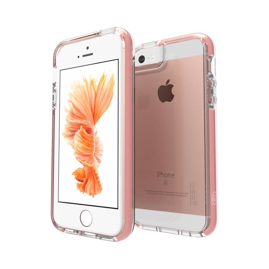GEAR4 Piccadilly for iPhone 5/5s/SE rose gold colored-1
