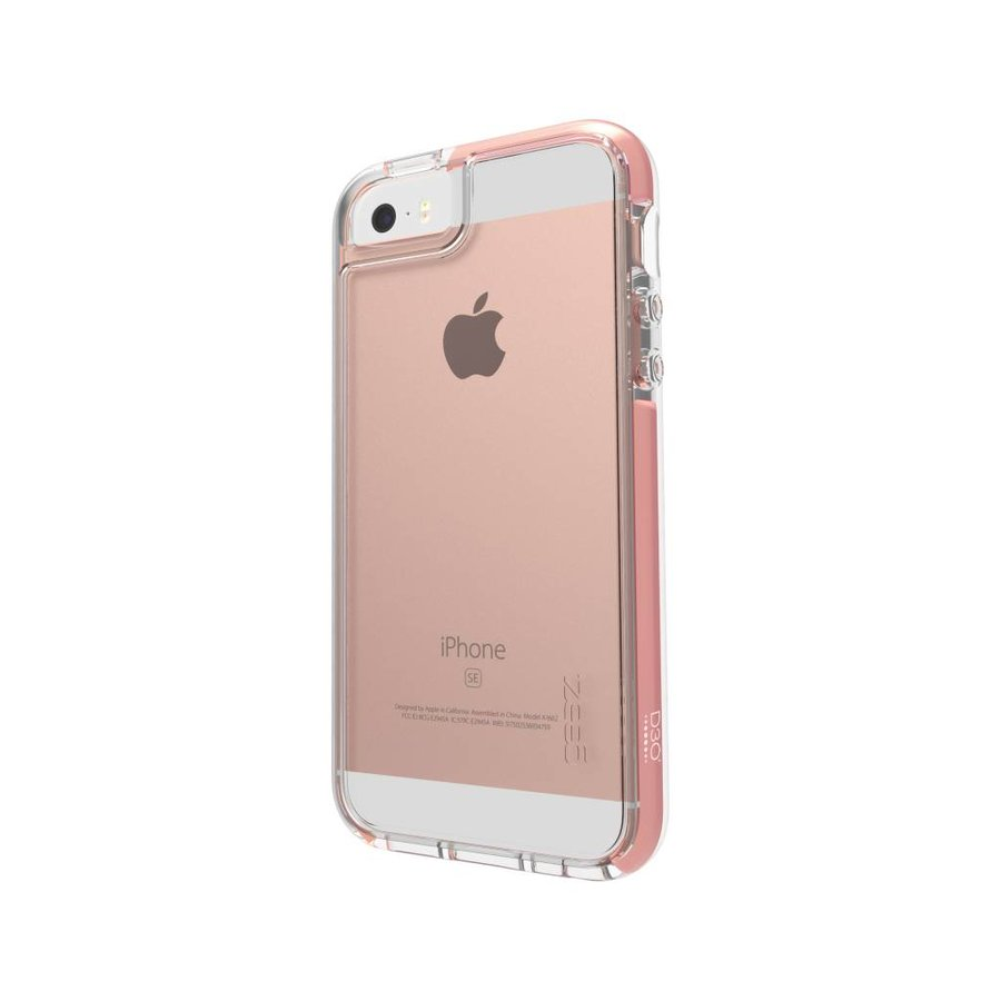 GEAR4 Piccadilly for iPhone 5/5s/SE rose gold colored-2