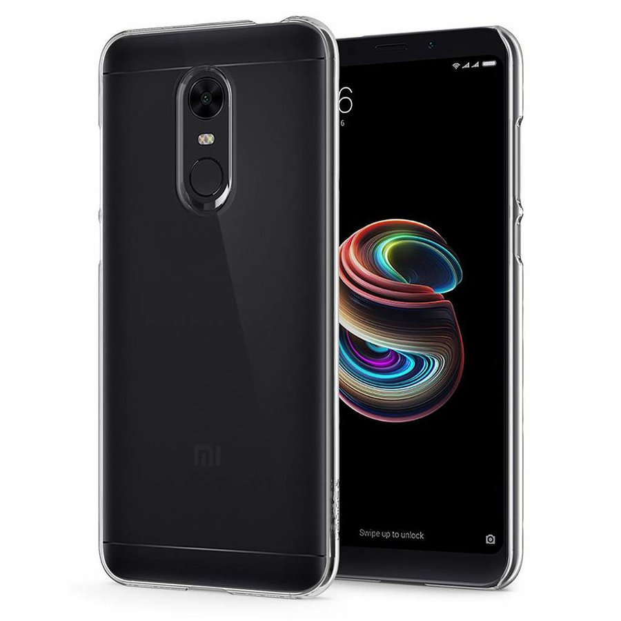 Spigen Thin Fit Crystal for Redmi 5 Plus crystal clear-1