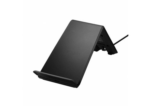 Spigen Essential F303W Wireless Fast Charger (9W) for Universal black