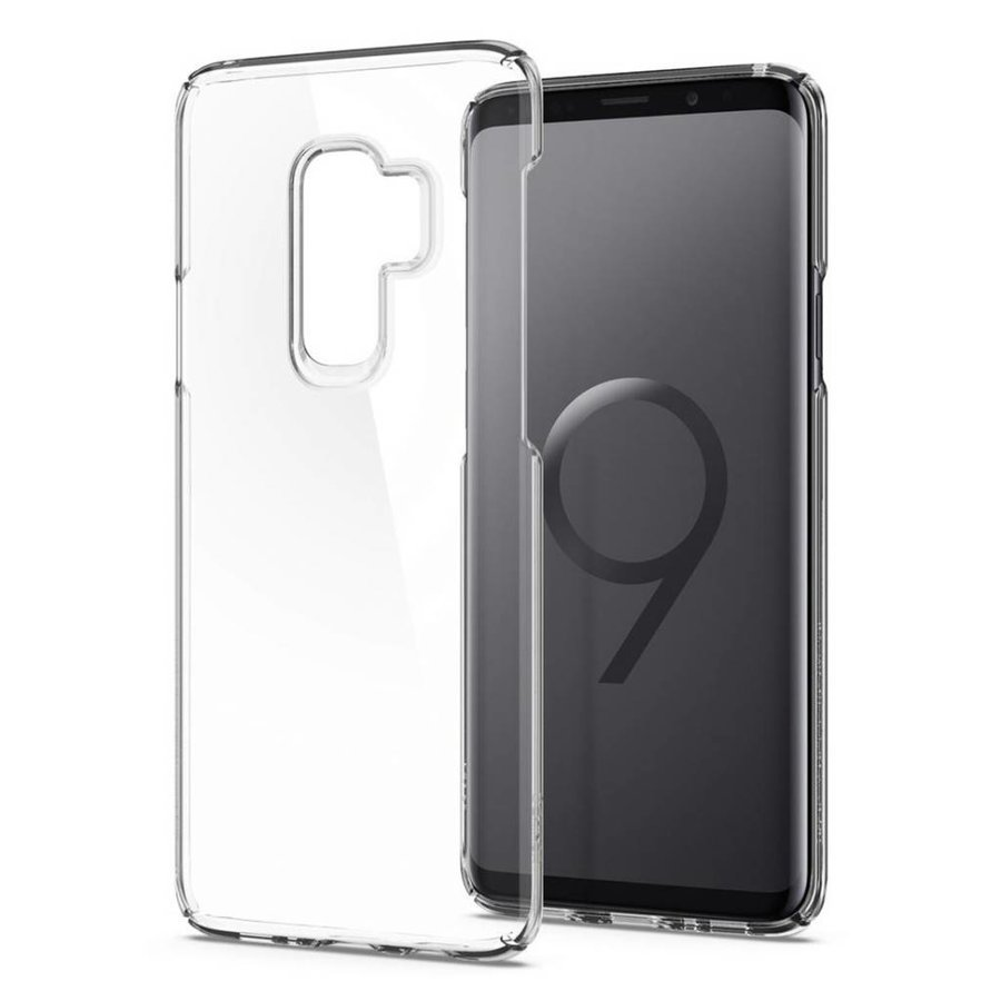 Spigen Thin Fit  for Galaxy S9+ crystal clear-2