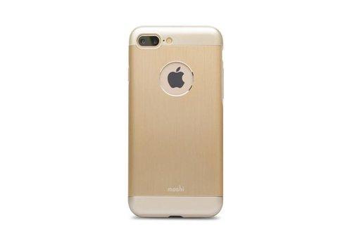 Moshi iGlaze Armour for iPhone 7/8 Plus Satin Gold