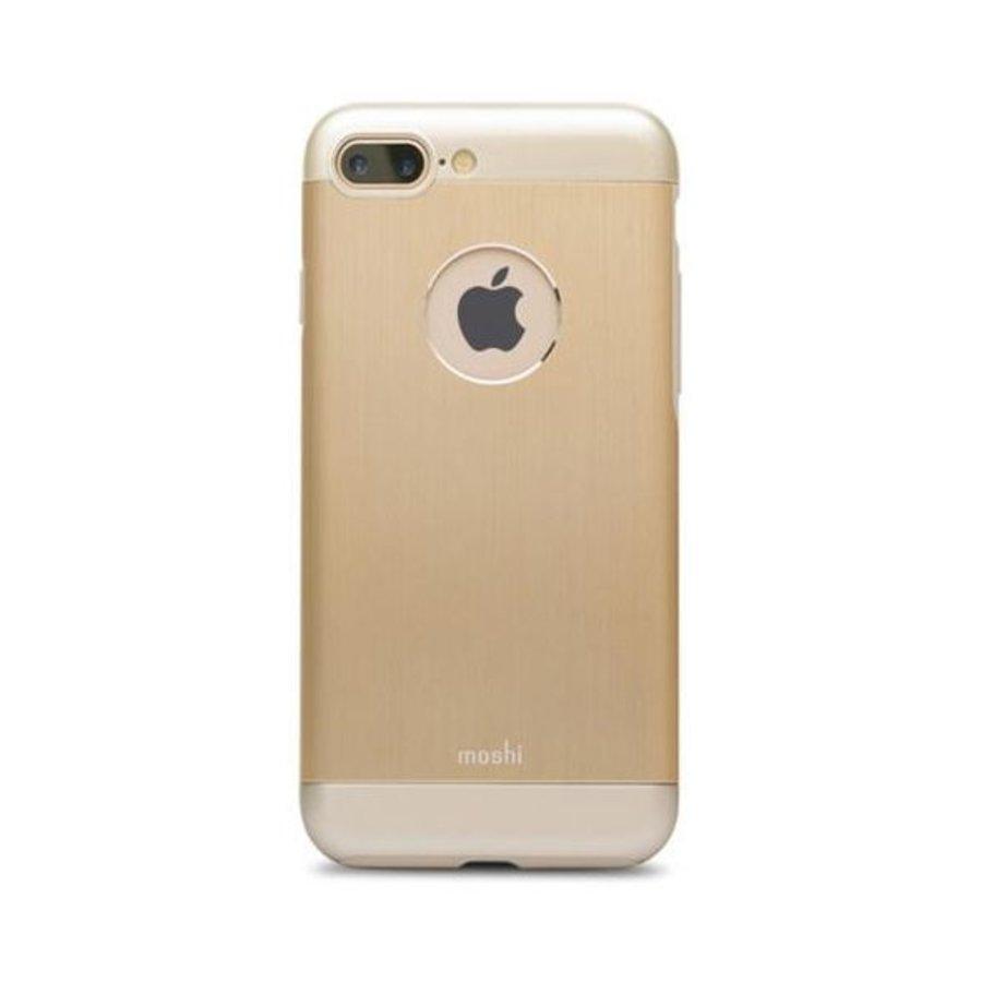 Moshi iGlaze Armour for iPhone 7/8 Plus Satin Gold-1